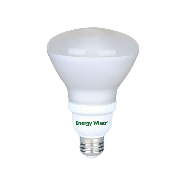 R30 Med Base CFL Reflector 15W 120V 2700K 80CRI  by Bulbrite