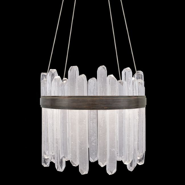 Lior Reversible Asymmetrical Pendant  by Fine Art Handcrafted Lighting