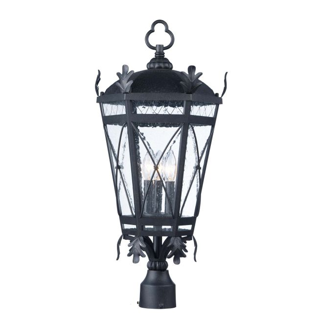 Canterbury DC Outdoor Post Light  by Maxim Lighting
