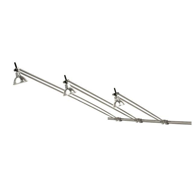 Monorail Wall Tellie Head by PureEdge Lighting | mw-tel-sn