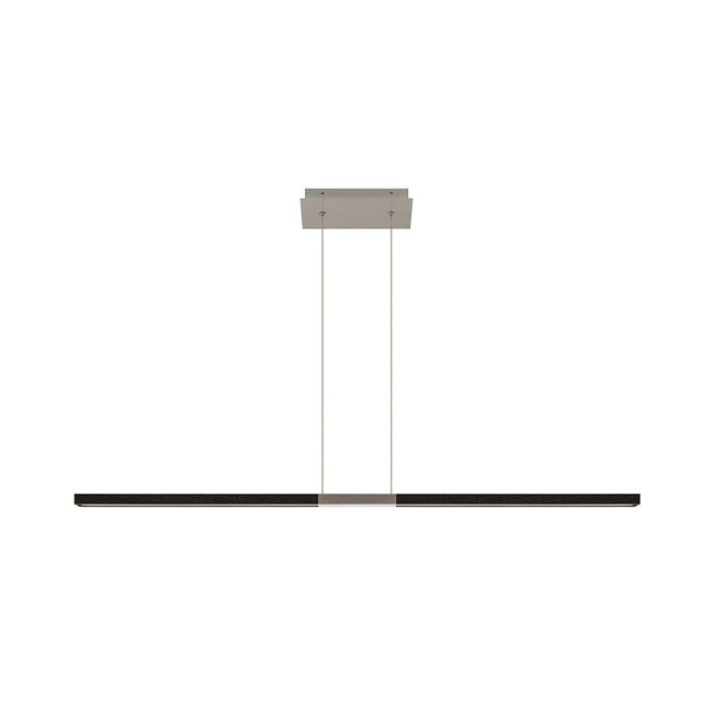 Tie Stix Metal Warm Dim Center Feed Suspension  by PureEdge Lighting