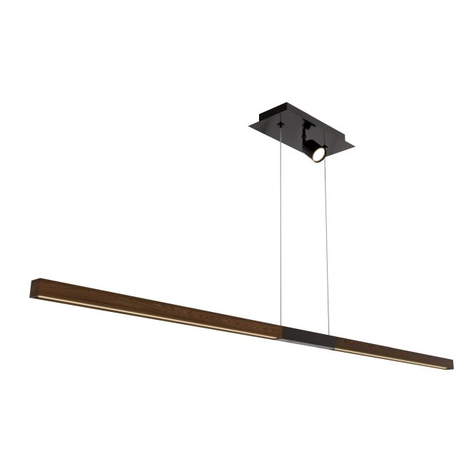 Tie Stix Wood Center Feed Suspension with FJ Port  by PureEdge Lighting