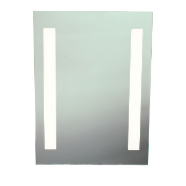 Twin Slim Fluorescent Dimmable Mirror by PureEdge Lighting | twinslim-20-f1d