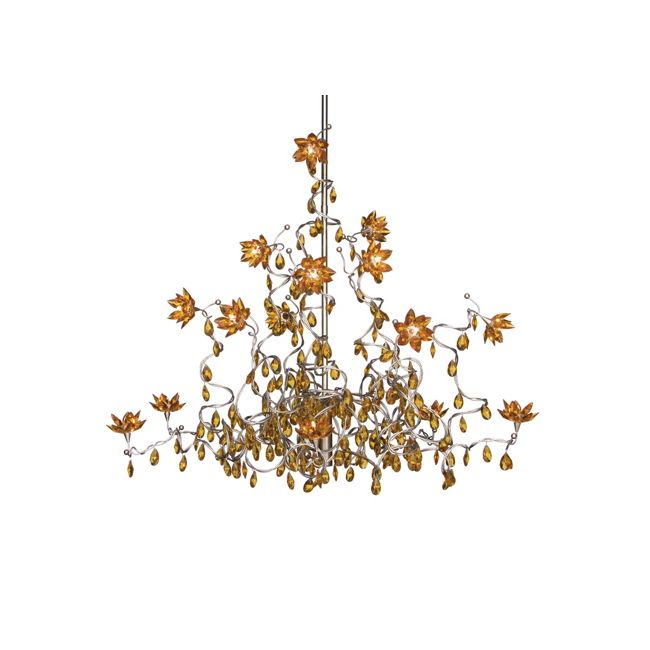 Jewel 15 Light Chandelier  by Harco Loor