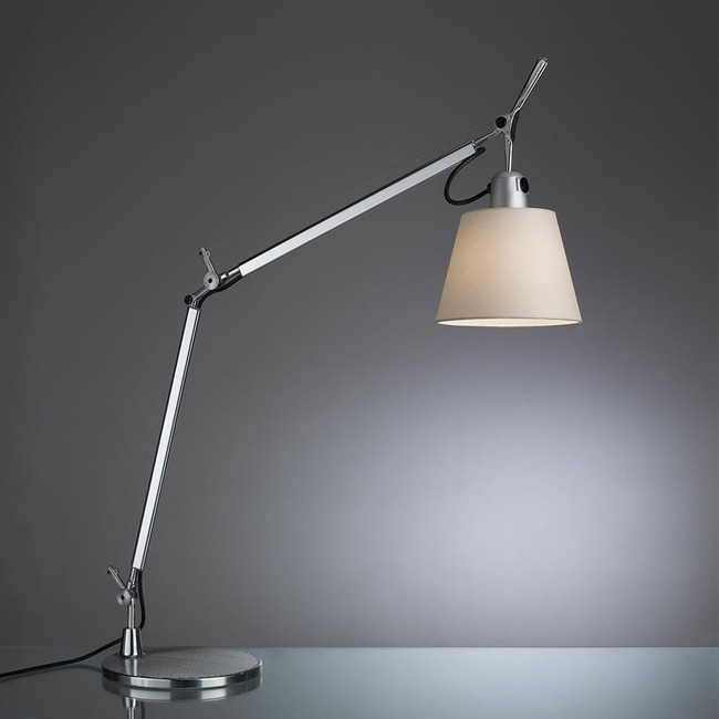 Tolomeo Shade Desk Lamp with Base by Artemide | TLS0000