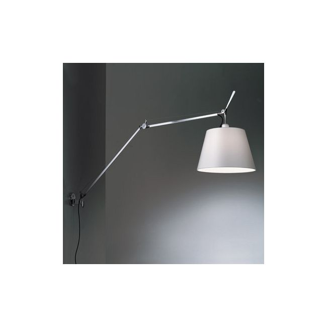 Tolomeo L mega wall light with diffuser by artemide tlm1101