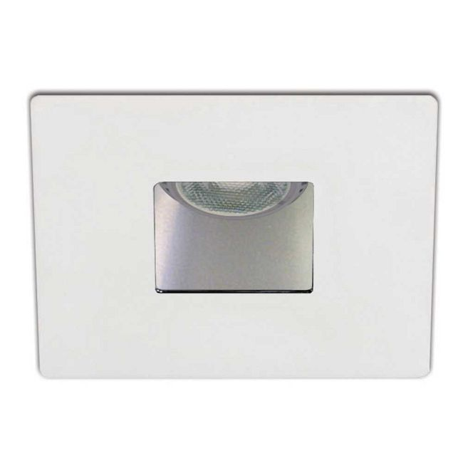 Low Voltage 3.5IN SQ Wall Wash Trim  by Contrast Lighting