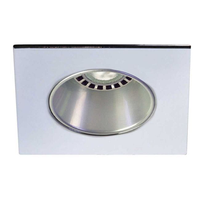 Low Voltage 3.5IN SQ Deep Regressed Round Downlight Trim  by Contrast Lighting