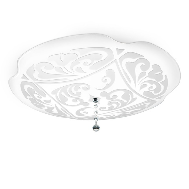 Charme P-PL Ceiling Flush Mount by Leucos | 0204005363359