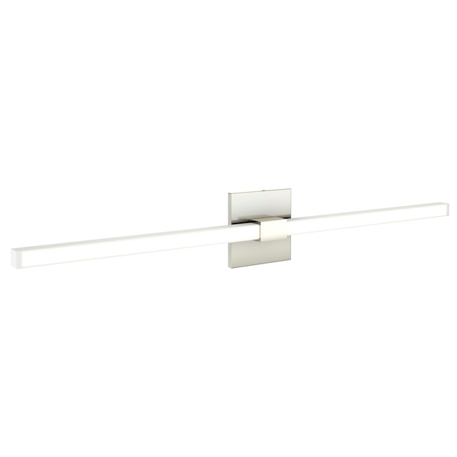 Tie Stix Metal Horizontal Fixed Wall Light  by PureEdge Lighting