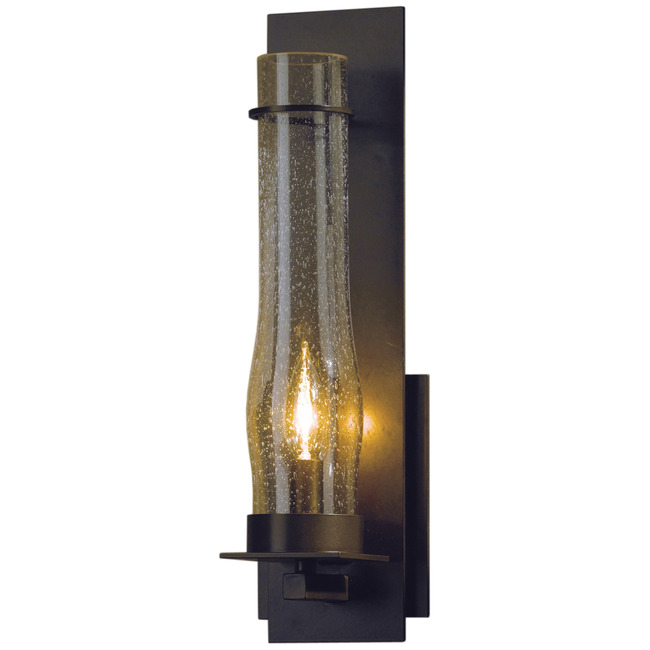 New Town Clear Seeded Wall Light  by Hubbardton Forge