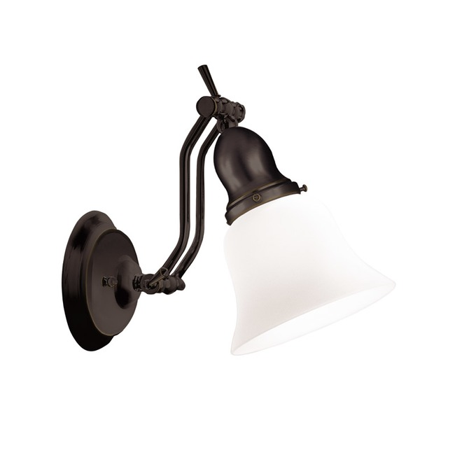Adjustables Up / Down Wall Light by Hudson Valley Lighting   341-OB