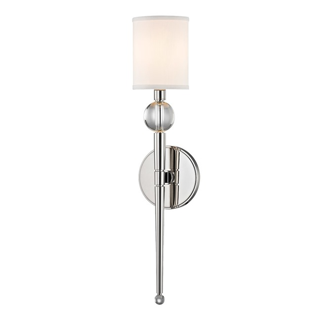 Rockland Wall Light by Hudson Valley Lighting | 8421-PN