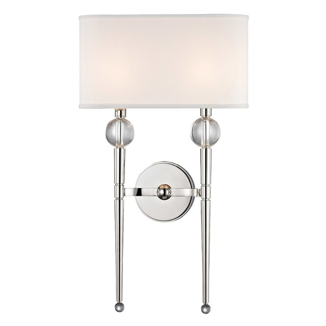 Rockland Wall Light by Hudson Valley Lighting | 8422-PN