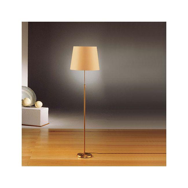 Illuminator 6354 Wide Shade Floor Lamp by Holtkoetter   6354-AB-KPRG