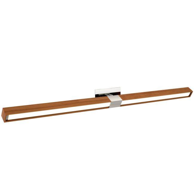 Tie Stix Wood Horizontal Adjustable Warm Dim Wall Light  by PureEdge Lighting