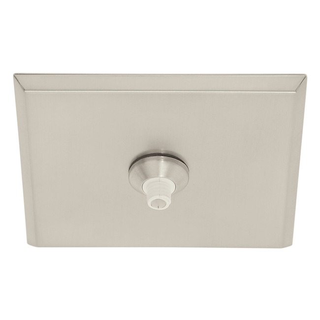 Fast Jack LED 4 Inch Square Canopy by PureEdge Lighting | fjp-4sq-led-sn