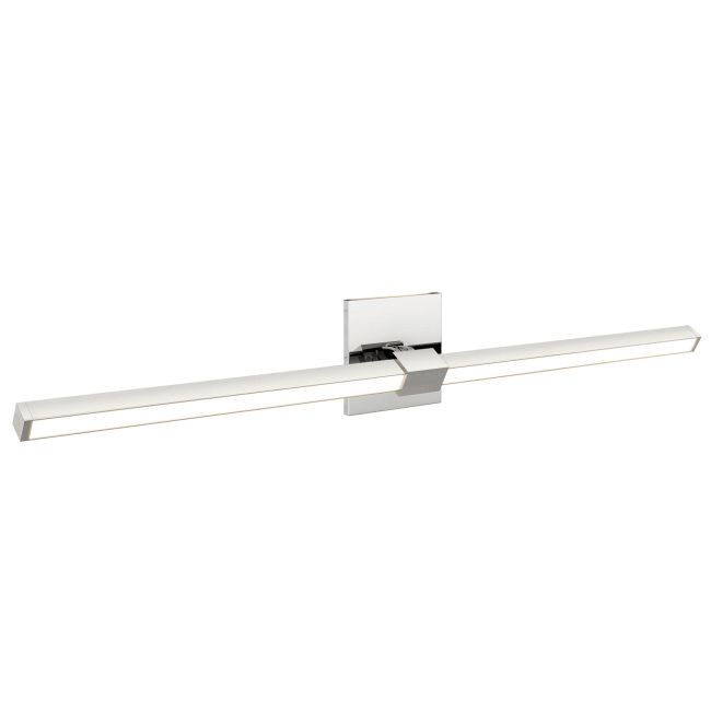 Tie Stix Metal Horizontal Adjustable Warm Dim Wall Light  by PureEdge Lighting