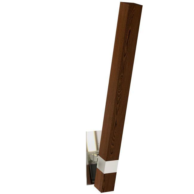 Tie Stix Wood Warm Dim Indirect Adjustable Wall Light  by PureEdge Lighting