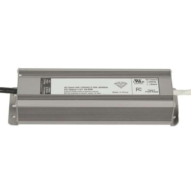 60W 12VDC LED Power Supply by PureEdge Lighting | ps-60w-12vdc