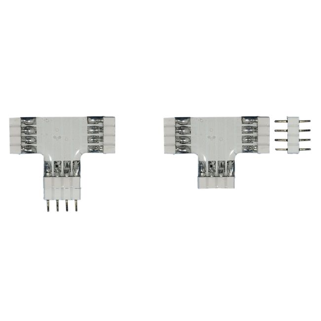 Soft Strip T Connector by PureEdge Lighting | ss-ct