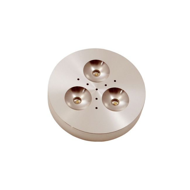 Puck LED Under Cabinet by PureEdge Lighting | puck-rd-3w-90d-30k-sa