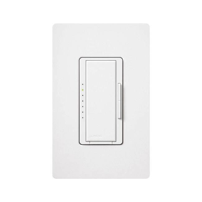 Maestro Wireless 600W Incandescent/LV Commercial Dimmer by Lutron | MRF2-6ND-120-WH