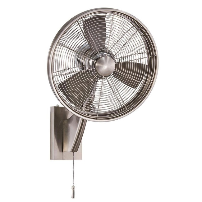 Anywhere Oscillating Wall Fan  by Minka Aire
