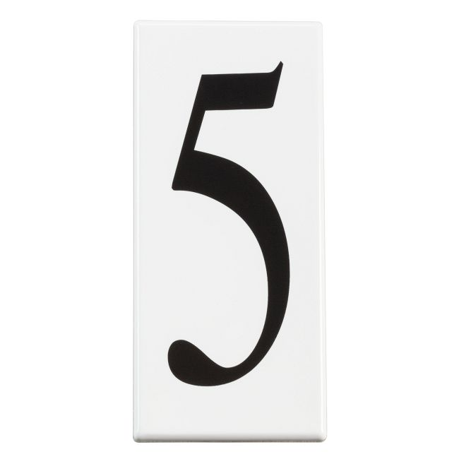 Number 5 Address Panel  by Kichler