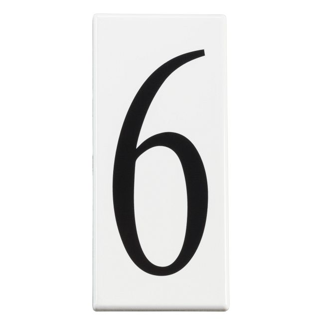 Number 6 Address Panel  by Kichler