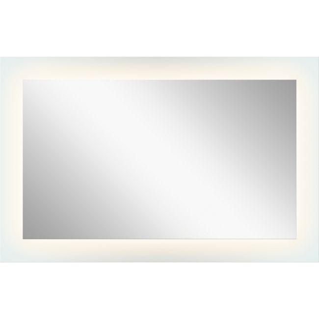 Four Sided Edge Lit Mirror  by Elan