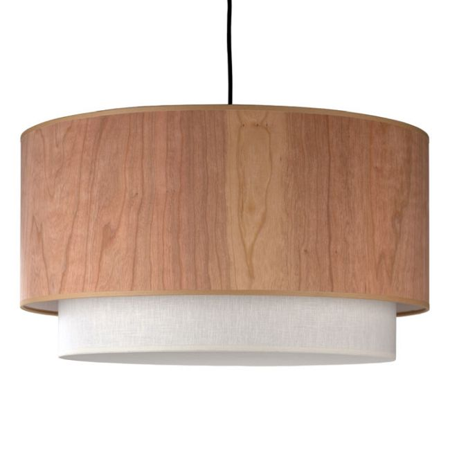 Woody Pendant by Lights Up | WD-9444BN-CWD