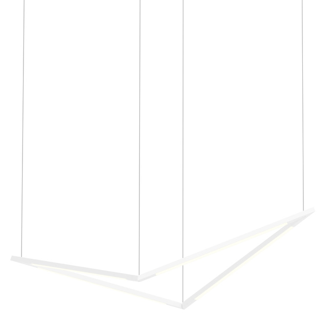 Z-Bar Bird Pendant  by Koncept Lighting