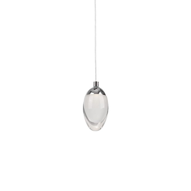 Ovo mini pendant by kuzco lighting 402901ch led
