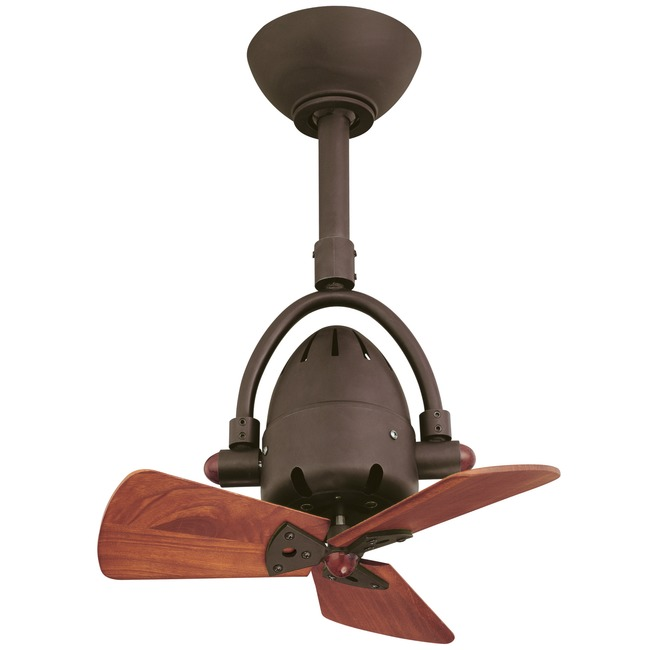 Diane Wood Ceiling Fan by Matthews Fan Company | DI-TB-WD