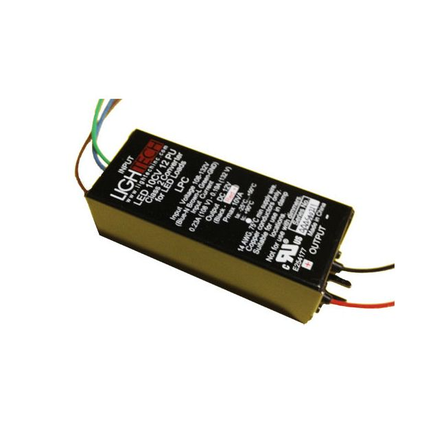 LED 10W 12V DC Constant Voltage LED Driver  by Lightech