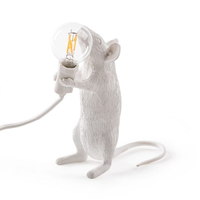 Mouse Standing Table Lamp  by Seletti