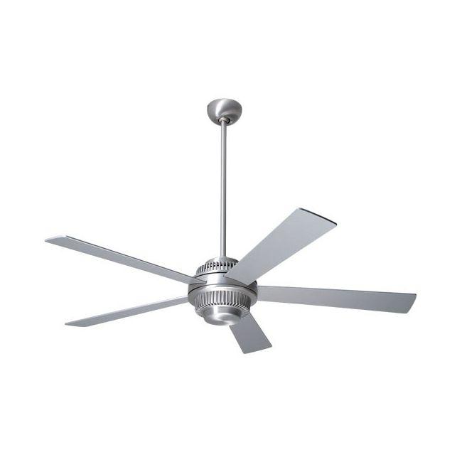 Solus Ceiling Fan no Light by Modern Fan Co.   SOL-BA-52-AL-NL-NC