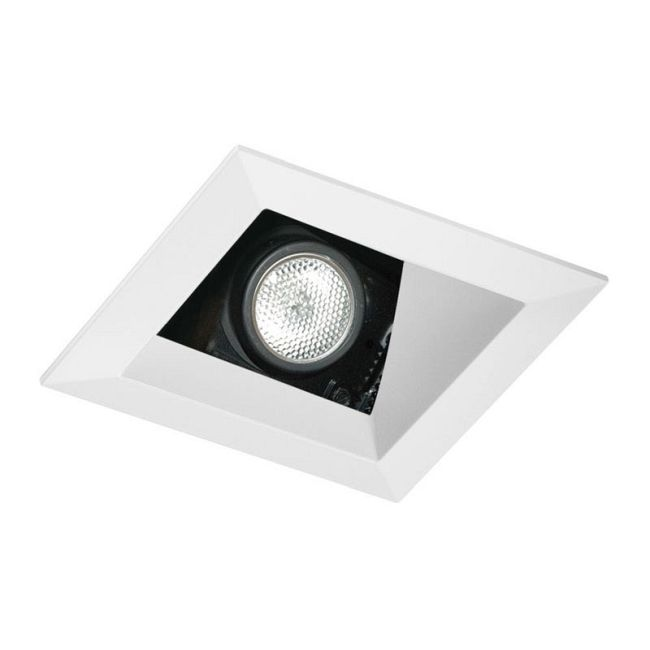 438SQ 3.25 Inch Square Adjustable Angle Cut Reflector Trim  by Juno Lighting