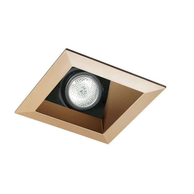 431SQ 3.25 Inch Square Lensed Angle Cut Reflector Trim  by Juno Lighting