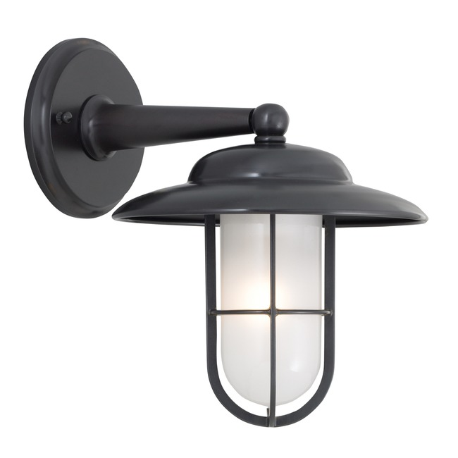 Compton Outdoor Wall Sconce W / Shade by Norwell Lighting | 1426-GM-SO