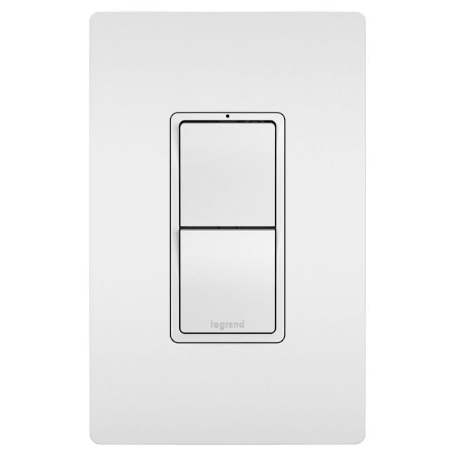 2-Module with Single and 3-Way Switches  by Legrand Radiant