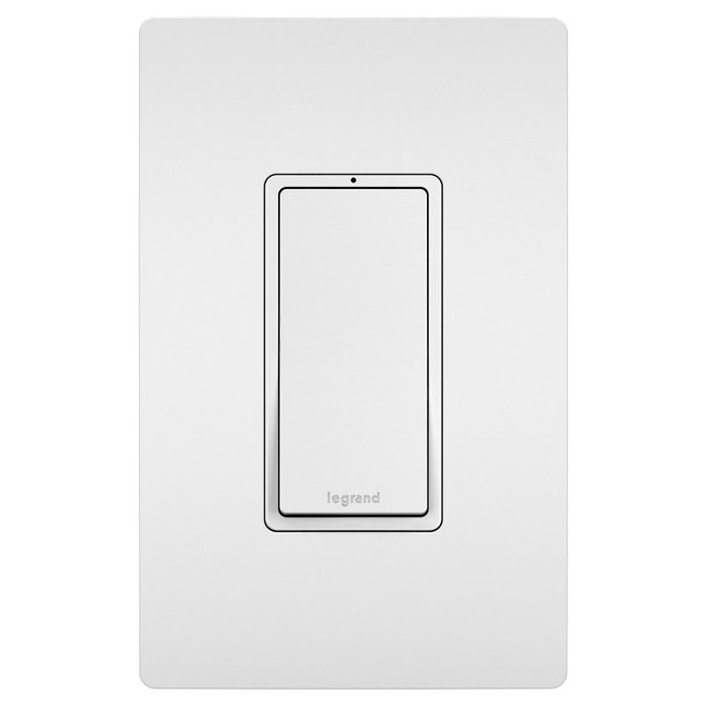 15 Amp Single Pole Lighted Switch  by Legrand Radiant