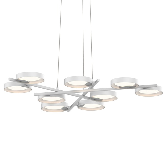 Guide 9 ring pendant by sonneman a way of light 2656 03w