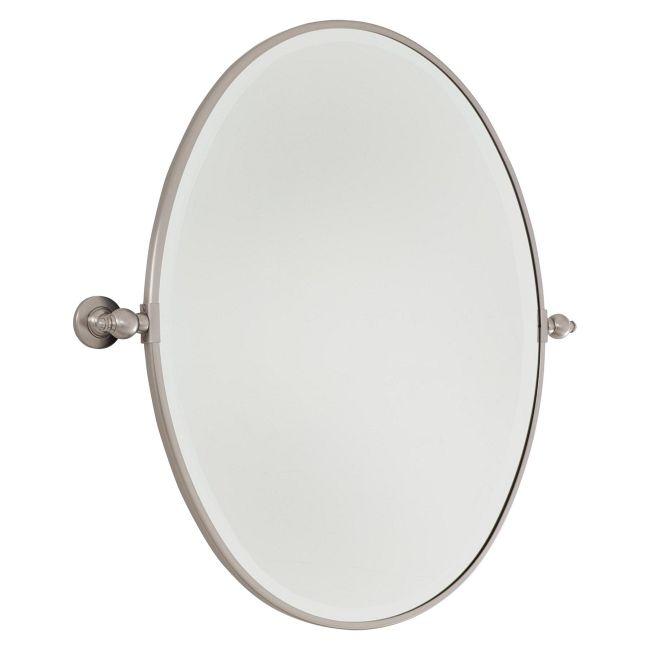Pivoting Oval Mirror  by Minka Lavery
