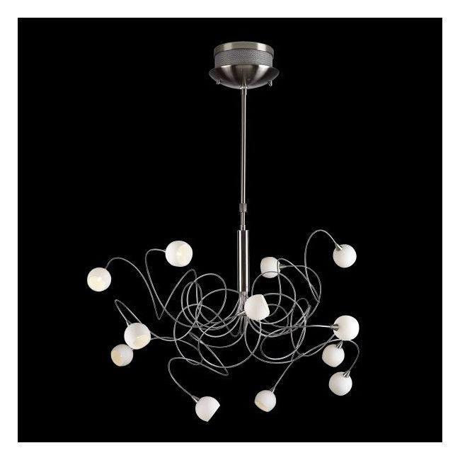 Fusion 12 Light Chandelier by PLC Lighting | 6035
