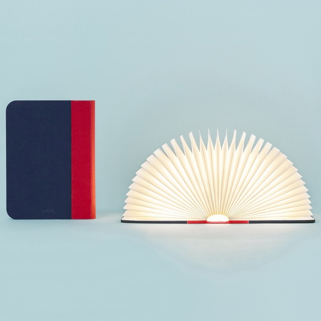 Classic Lumio Fabric Book Light  by Lumio