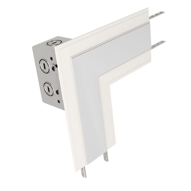 TruLine 1.6A L-Picture Dual Feed Power Channel Connector  by PureEdge Lighting