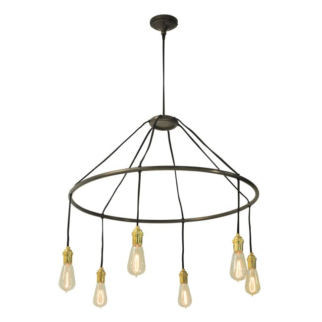 Halo Chandelier by Roost | LC-ROL113