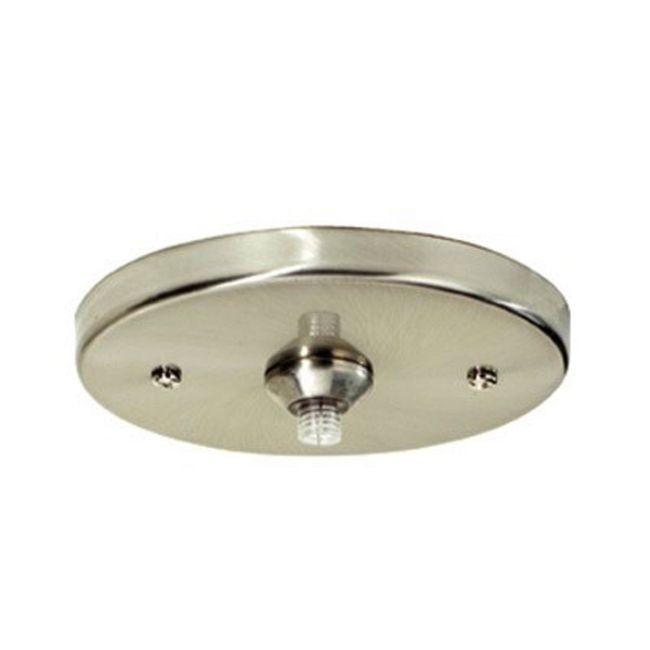 Freejack 4 Inch Round Flush Canopy 24V by Tech Lighting | 700FJ4RFS024
